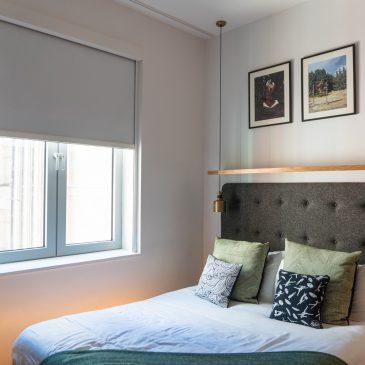 wilde hotel bedroom blinds open