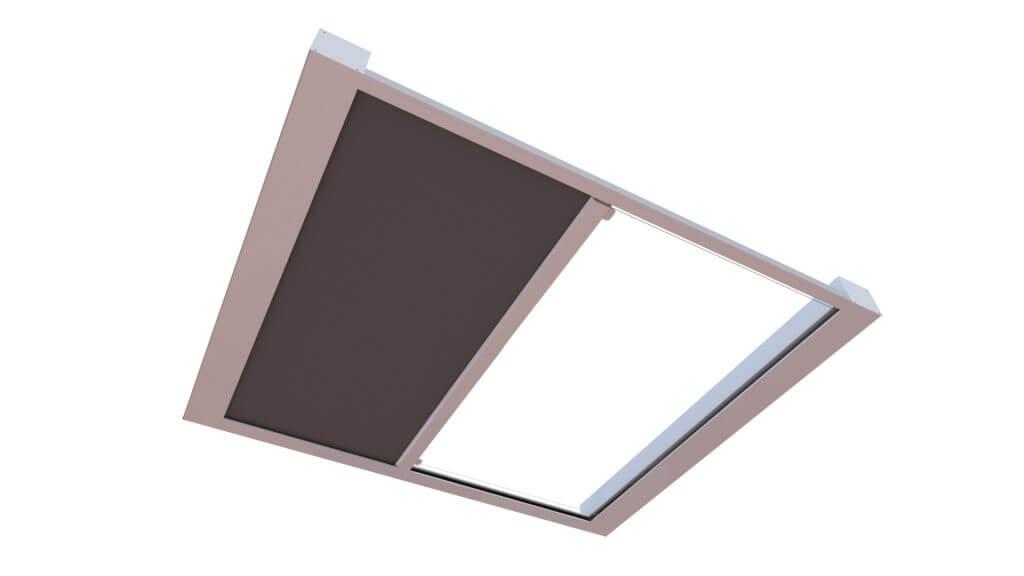 KuroLok RL zipped edge rooflight blind system