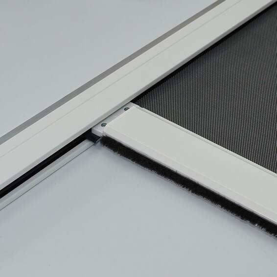KuroLok zipped edge blackout roller blind system standard hembar